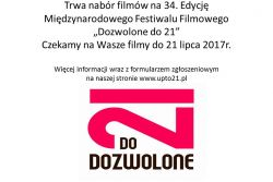 Dozwolone do 21 / UP TO 21