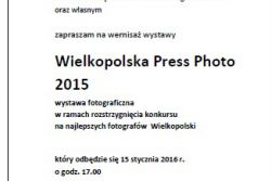 Wielkopolska Press Photo 2015